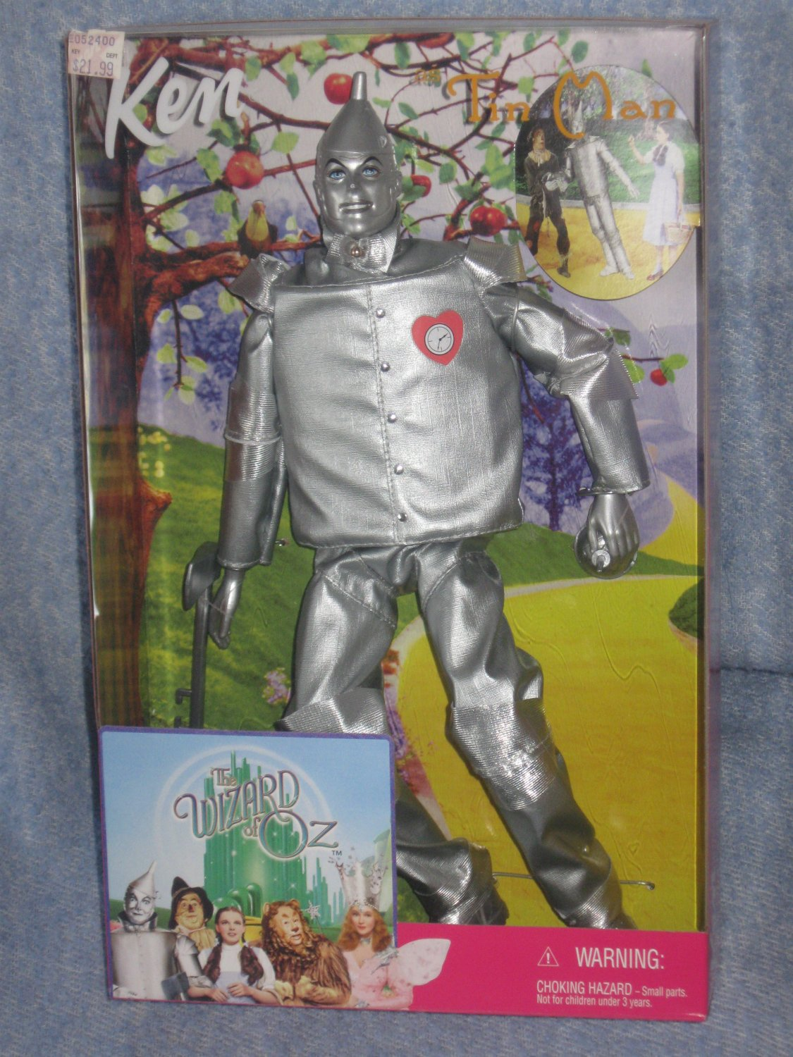 Ken Wizard of Oz - Ken as the Tin Man 1999 Added Shipping Cost Outside USA