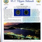 2009 U.S. Virgin Islands Statehood Quarters - Postal Commemorative Society Uncirculated