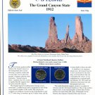 2008 Arizona Statehood Quarters - Postal Commemorative Society Uncirculated