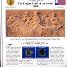 1999 Georgia Statehood Quarters - Postal Commemorative Society Uncirculated