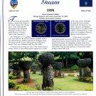 2009 Guam Statehood Quarters - Postal Commemorative Society Uncirculated