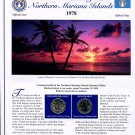 2009 The Northern Mariana Islands Statehood Quarters - Postal Commemorative Society Uncirculated