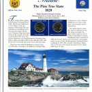 2003 Maine Statehood Quarters - Postal Commemorative Society Uncirculated