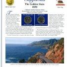 2005 California Statehood Quarters - Postal Commemorative Society Uncirculated