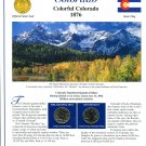 2006 Colorado Statehood Quarters - Postal Commemorative Society Uncirculated