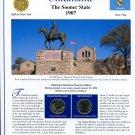 2008 Oklahoma Statehood Quarters - Postal Commemorative Society Uncirculated