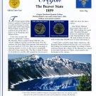 2005 Oregon Statehood Quarters - Postal Commemorative Society Uncirculated