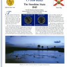 2004 Florida Statehood Quarters - Postal Commemorative Society Uncirculated