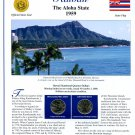 2008 Hawaii Statehood Quarters - Postal Commemorative Society Uncirculated