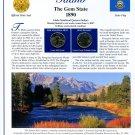 2007 Idaho Statehood Quarters - Postal Commemorative Society Uncirculated