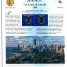 2003 Illinois Statehood Quarters - Postal Commemorative Society Uncirculated