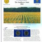 2005 Kansas Statehood Quarters - Postal Commemorative Society Uncirculated