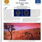 2007 Utah Statehood Quarters - Postal Commemorative Society Uncirculated