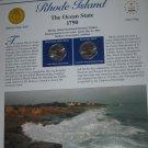 2001 Rhode Island Statehood Quarters - Postal Commemorative Society Uncirculated
