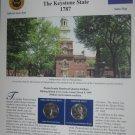 1999 Pennsylvania Statehood Quarters - Postal Commemorative Society Uncirculated