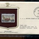 4 Cent Winslow Homer Historic Stamp of America First day Issue