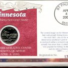 2005 Uncirculated Commemorative Cover Minnesota Quarter - Denver Mint Mark