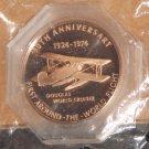 50th Anniversary Commemorative Token First Flight Around the World