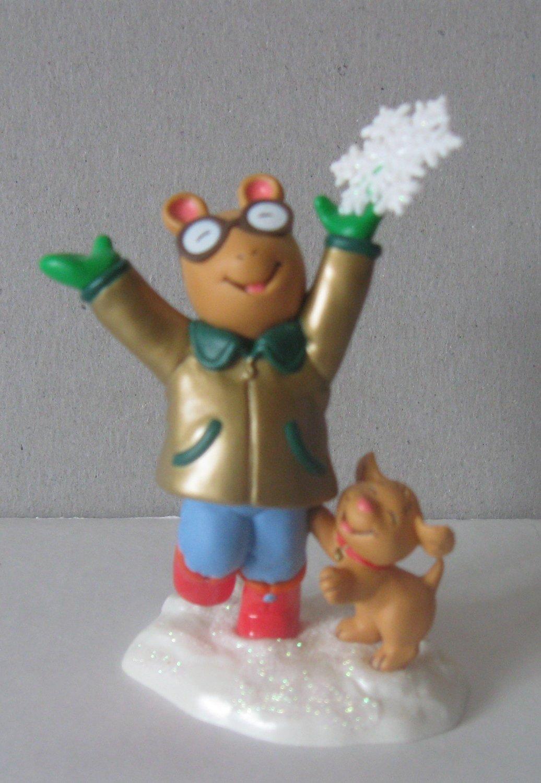 2001 Hallmark Ornament Arthur A Perfect Christmas