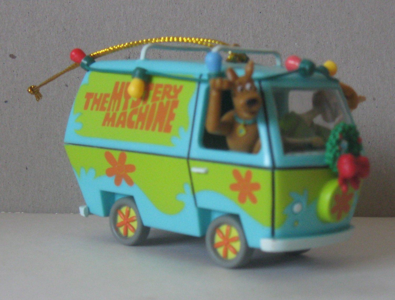 Scooby Doo Christmas Tree Ornament Mystery Machine