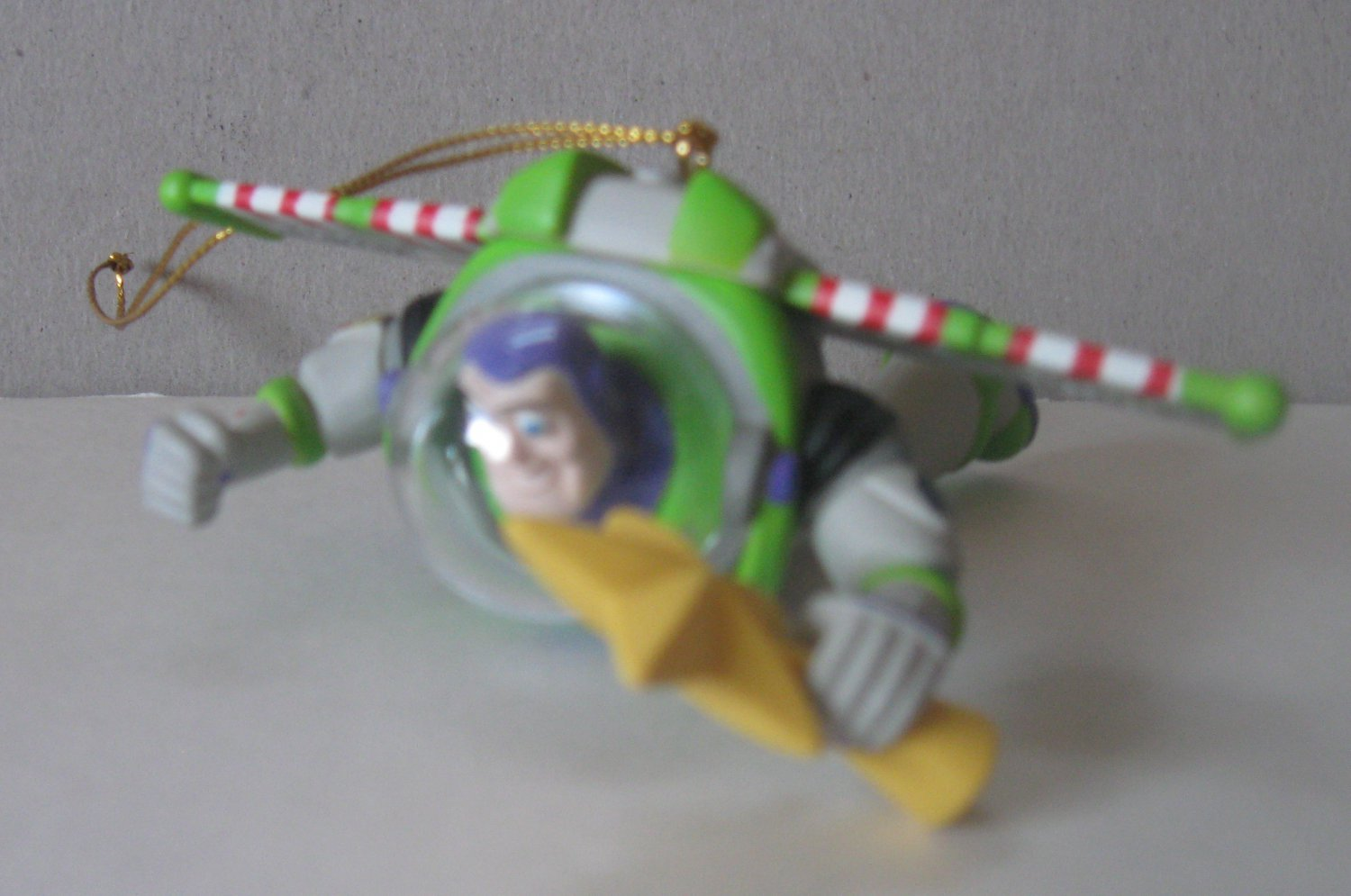 Disney Grolier Toy Story Buzz Lightyear Collectible Christmas Ornament