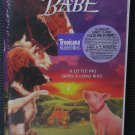 **New Sealed~ BABE - A little pig goes a long way... (VHS, 1996 Clamshell)