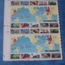 1941 A World At War Sheet of Stamps  (1990)