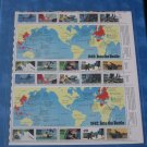 1942 Into the Battle Sheet of Stamps  (1991)