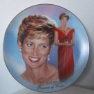 "Princess Diana ""Forever Diana"" Bradford Exchange Plate W/COA (1998) Added Shipping Cost Outside USA"