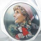 "Princess Diana ""England's Rose"" Franklin Mint Plate W/COA Added Shipping Cost Outside USA"