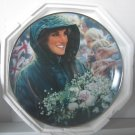 "Princess Diana ""People's Princess"" Franklin Mint Plate W/COA Added Shipping Cost Outside USA"