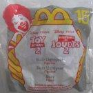 Toy Story 2 Buzz Lightyear Vintage 1999 McDonald's Disney