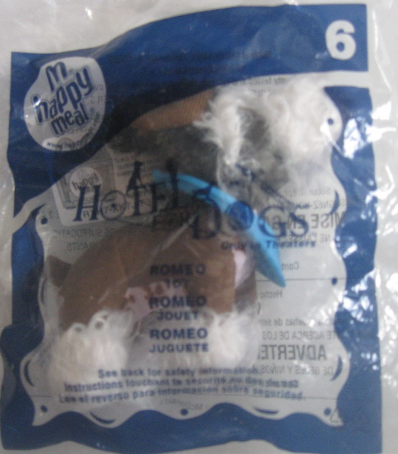 McDonald's Happy Meal Toy Hotel for Dogs Romeo #6 2009