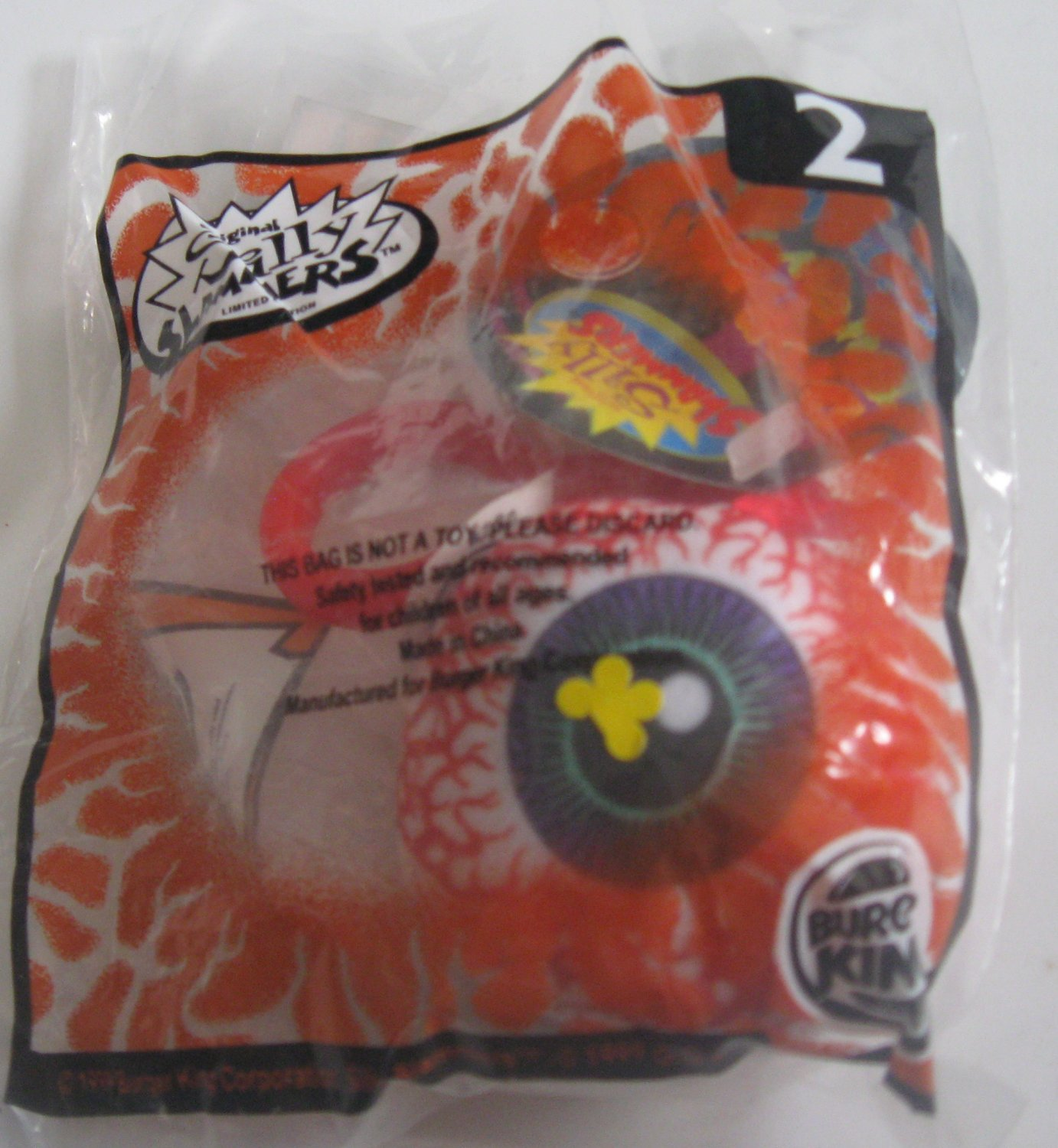 Burger King Kid's Meal Toy - Silly Slammers #2