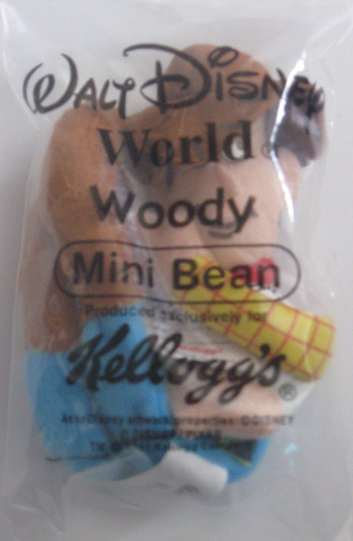 Kellogg's Walt Disney World/Pixar Toy Story Mini Bean Woody Stuffed 2001