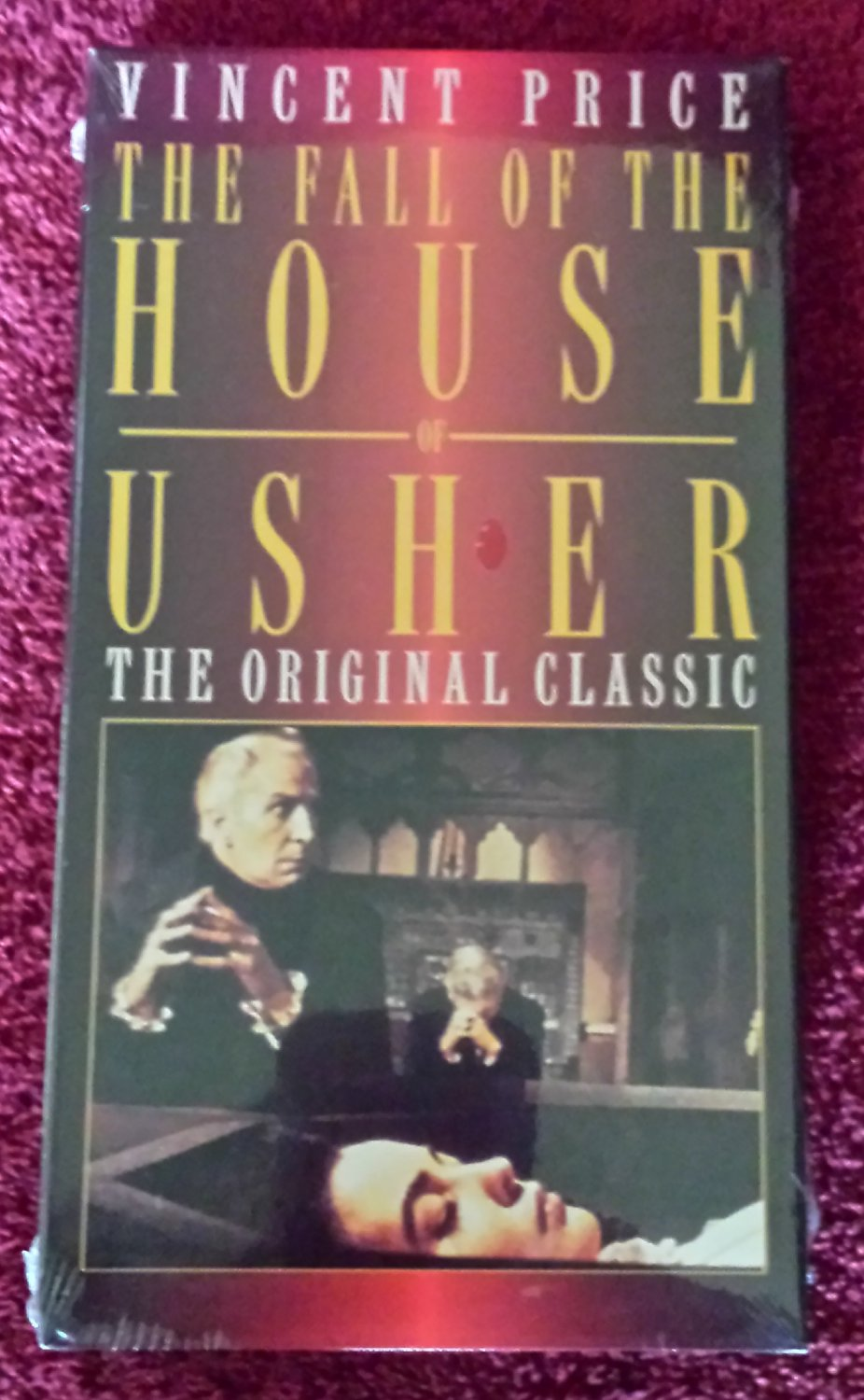THE FALL OF THE HOUSE OF USHER (VHS 1960)