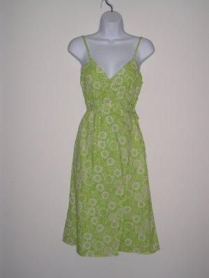 NWOT MOSSIMO sexy green hippie boho wrap sun dress ~ S