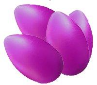Purple eGGe - Case of 4