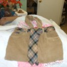Homemade Corduroy Pocketbook w/tie