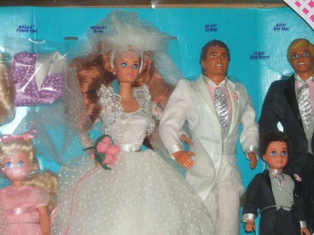 1990 Wedding Party Midge Gift Set