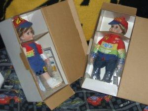 Jeff Gordon's  Chris and Katie Collector Dolls