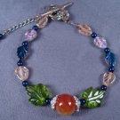Fire Agate Bracelet