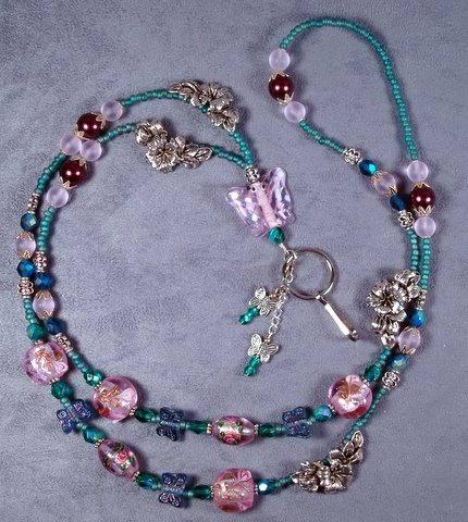 Gorgeous  spring time lanyard