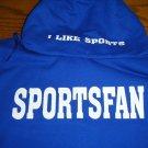 Blue Sportsfan hoodie