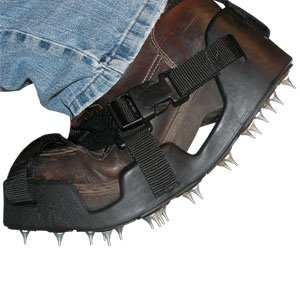 Large Flex-Bed Spiked Shoe