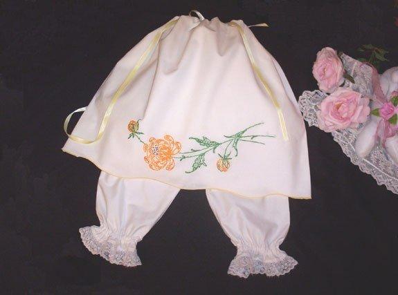 Vintage Pillowcase Dress - Sunny Delight - Custom Order - Infant - Toddler - Little Girl Dress