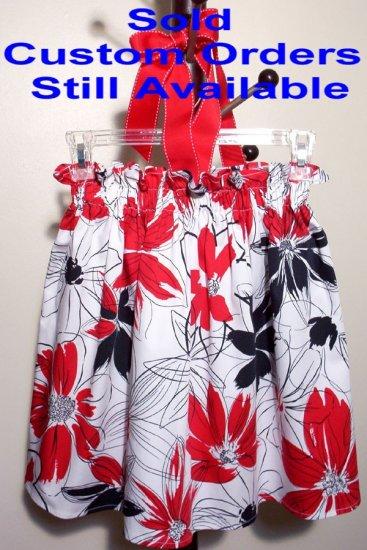 Patriotic - Retro Halter Dress - Top - Pillowcase Dress Style - Custom Order Available