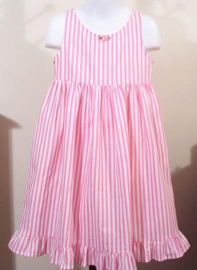 Little Girls - Summer - Slip Dress - Pink Taffy - Toddler - Little Girl Dresses