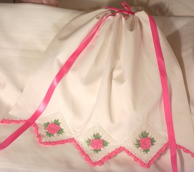 Angela - Pillowcase Dress - Little Girl Dress - Vintage Heirloom Dress