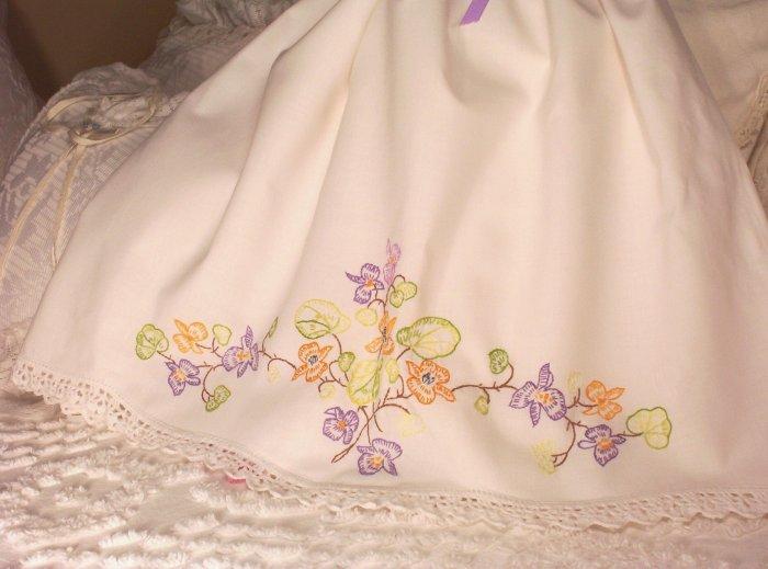 Frannie - Vintage Pillowcase Dress - Infant - Toddler - Little Girl - Dress